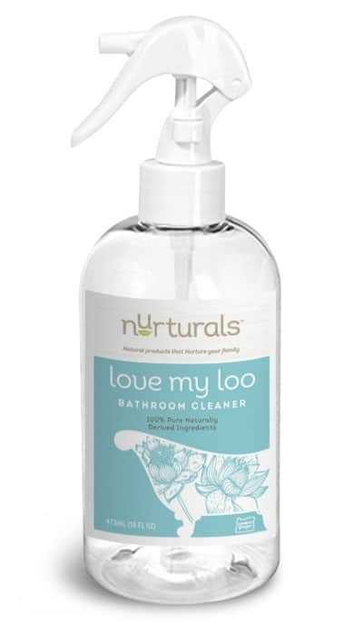 All natural, non-toxic bathroom cleaner by My Nurturals made in Portland, OR