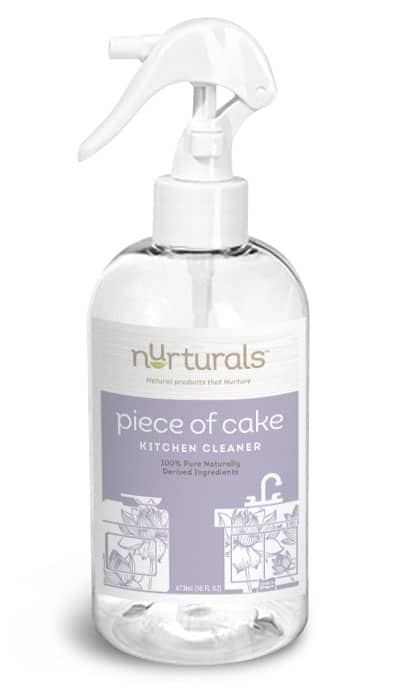 Non toxic, eco friendly disinfecting kitchen cleaner spray made by My Nurturals in Portland, OR