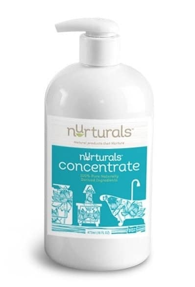 All natural non toxic concentrated cleaning liquid made in Portland OR by Nurturals