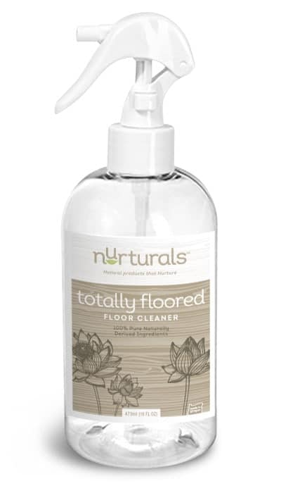 All natural floor cleaner, safe, non toxic made by My Nurturals in Portland OR