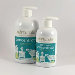 Nurturals All Purpose Concentrate, non-toxic, all natural, made in Oregon.