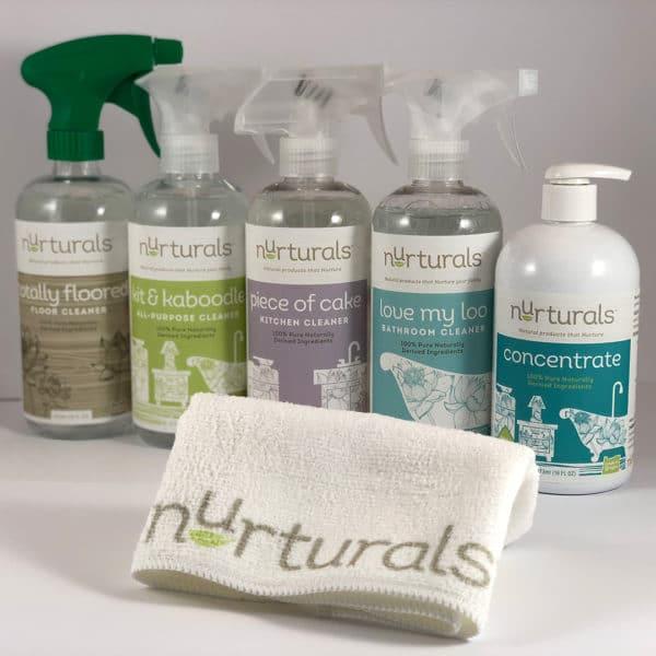 Nurturals non-toxic cleaners starter set