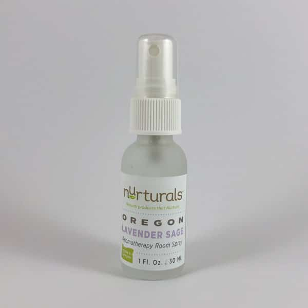 Non-toxic Oregon Lavender Sage Aromatherapy Room Spray, Made in Oregon.