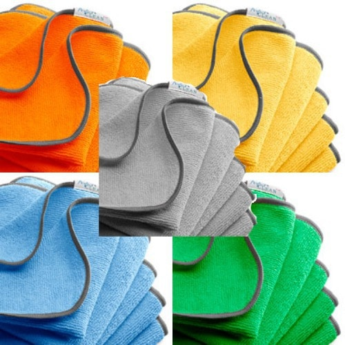 Nurturals Perfect Clean antimicrobial microfiber cloth set